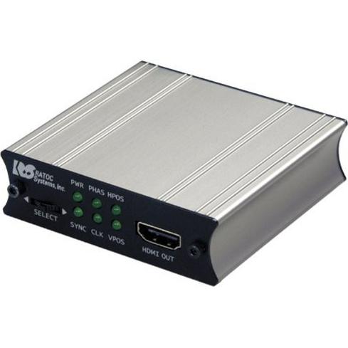 変換アダプタ REX-VGA2HDMI